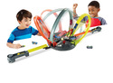 Hot Wheels Roto Revolution Motorized Loop Track Se