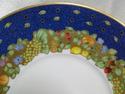 Bernardaud Frutti Fiori, Fruit, Flowers, Blue Rim: