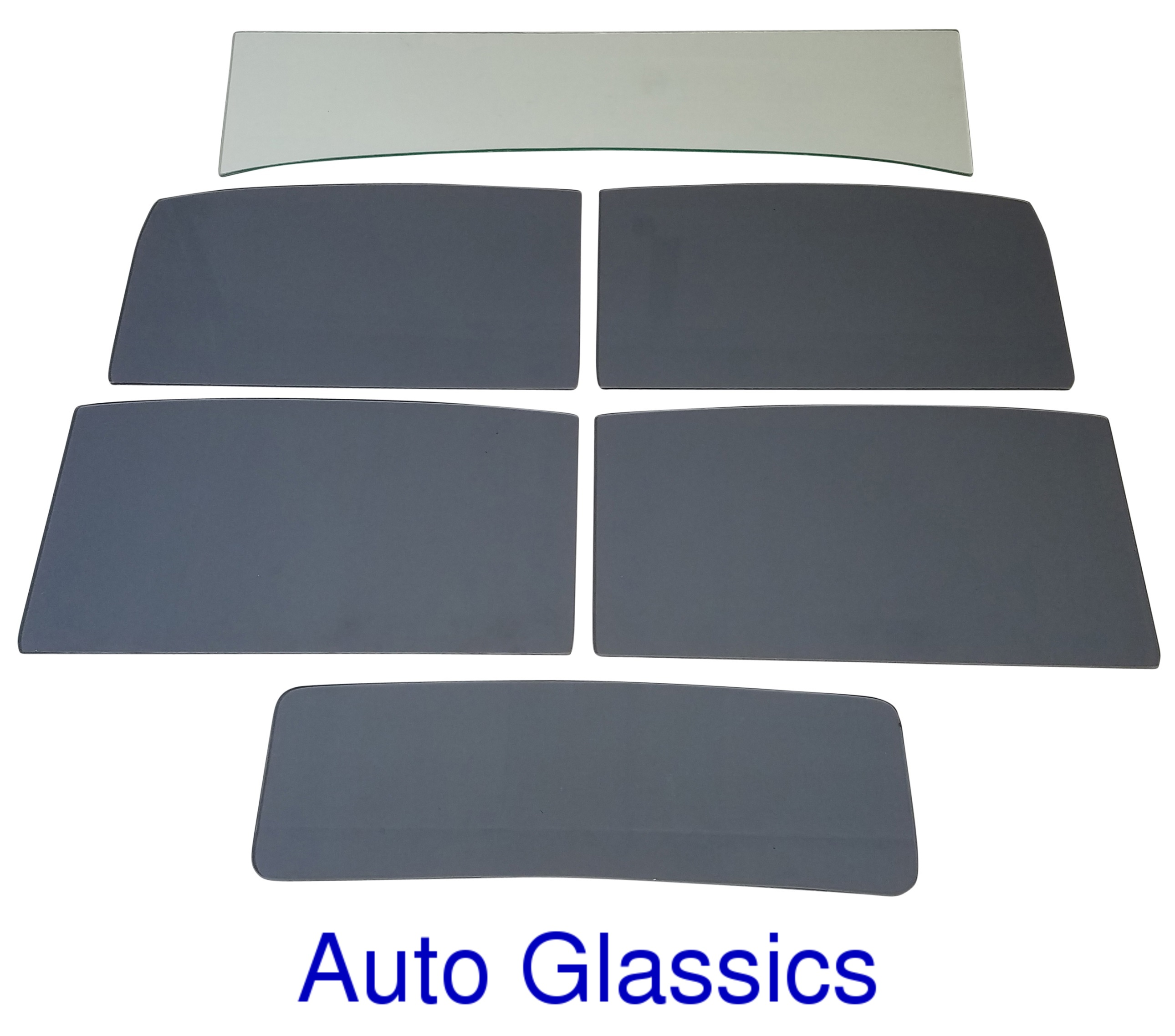 1932 Ford Model B/18 Tudor Sedan Auto Glass Kit To