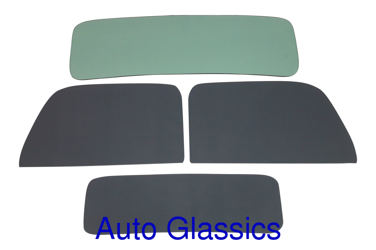 1935 1936 Ford Pickup Truck Auto Glass Kit NEW Cla
