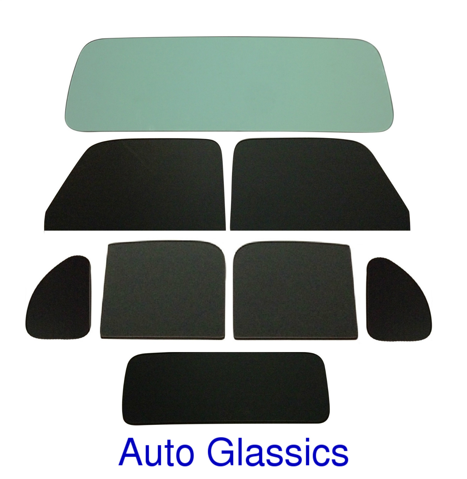 1935 Ford Fordor 4 Door Sedan Auto Glass Kit NEW C