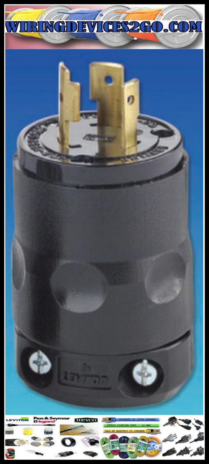 277v Plug Wiring Schematic Diagrams Light Electrical Leviton L7150 Nema L7 15p 2 Pole 3 Wire 15a Commercial Grade Rh Ebay Com Ballast To Hps