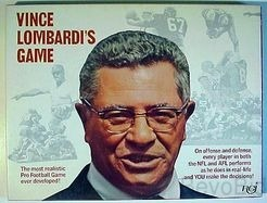 1973 Vince Lombardi's Football Board Game - Vintag