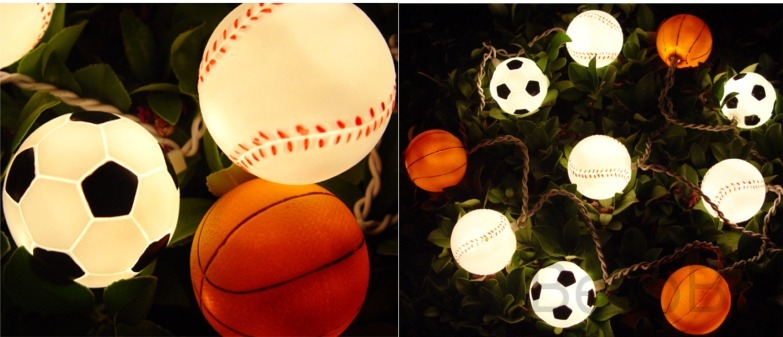 Sports Lights - Baseball, Soccer, Basketball - Bir