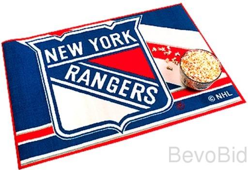 NY Rangers Rug / Mat Hockey - NHL - NEW- FREE Ship