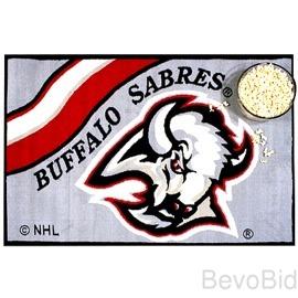 """Buffalo Sabres Rug / Mat - NHL  -19"""" x 29"""" NEW - F"""