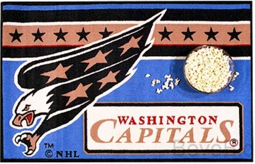 """Washington Capitals BIG Area Rug NHL - 30"""" x 47"""" -"""