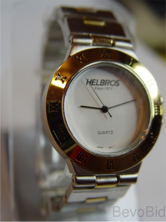 Helbros Men's Fashion Quartz Watch - NEW