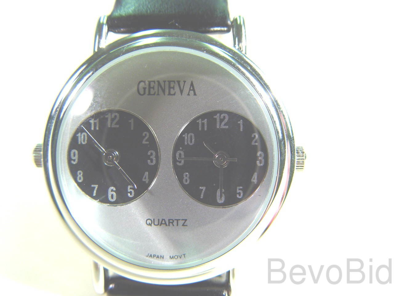 Geneva Dual-Time Unisex Watch - New - Free Shippin