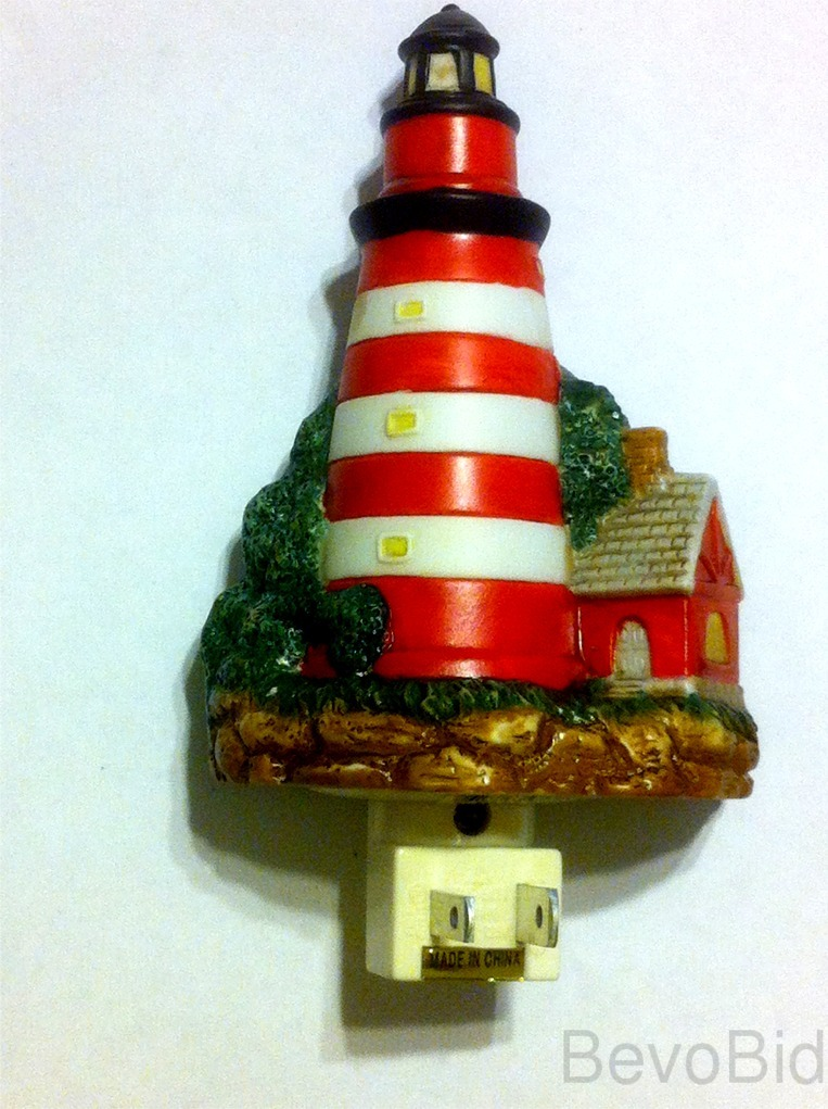 West Quoddy Head LIGHTED LIGHTHOUSE WALL NIGHT LIG