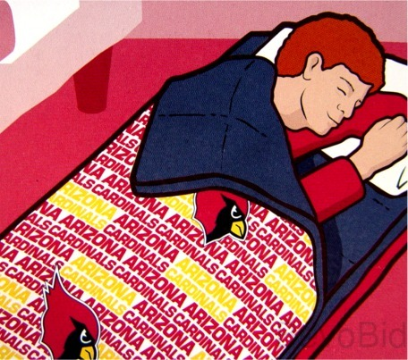 Arizona Cardinals Football Tailgate Sleeping Bag S
