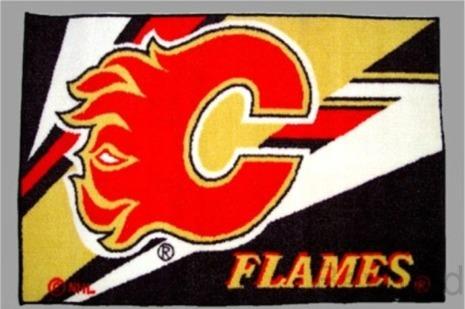Calgary Flames Rug / Mat - NHL - NEW- FREE Shippin