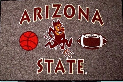 ARIZONA STATE Sun Devils - Welcome/Door Mat Rug -