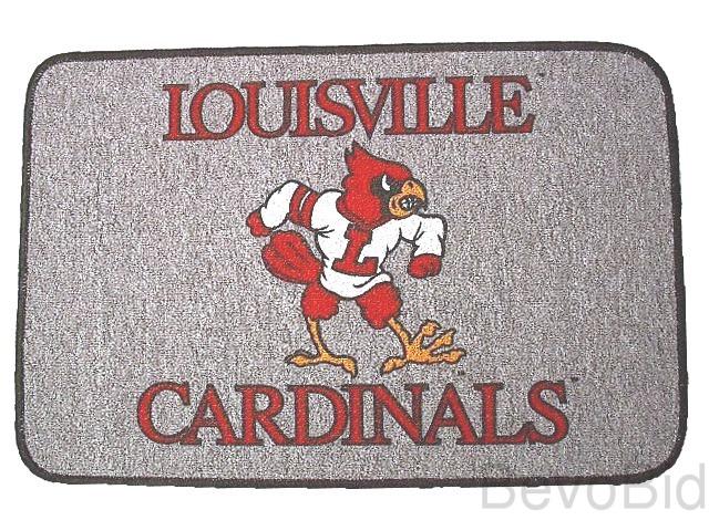 Louisville Cardinals  - Welcome/Door Mat Rug - NEW