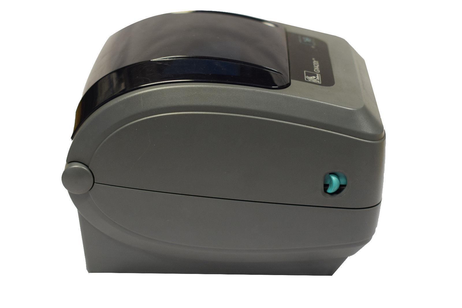 Zebra Gx420t Gx42 100410 000 Thermal Printer Ethernet