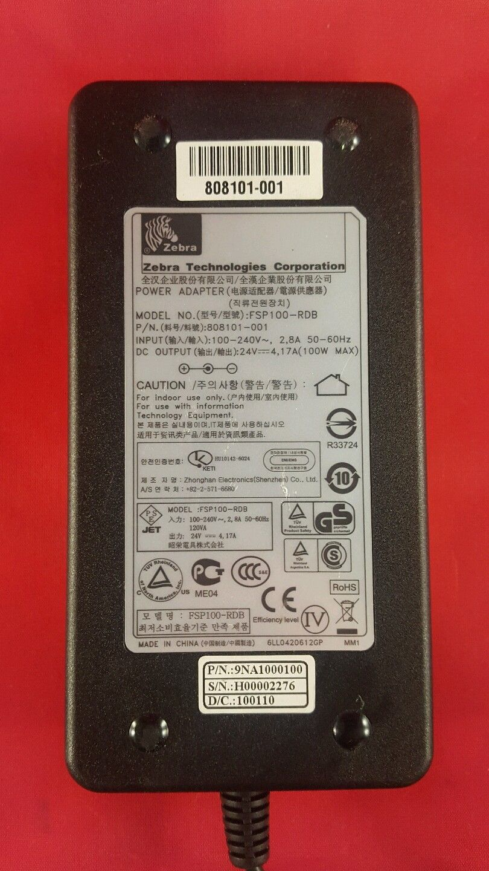 Zebra Gx420d Gx420t Gx430t Printer Ac Power Adapter 105934