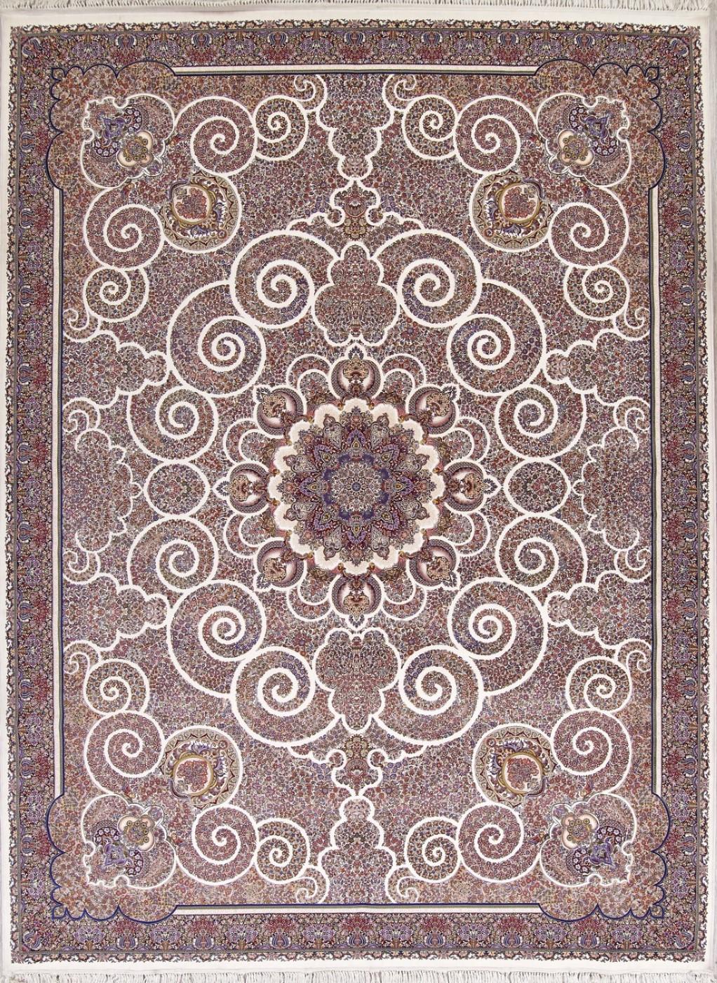 Ivory Turkish Oriental 10x13 Wool