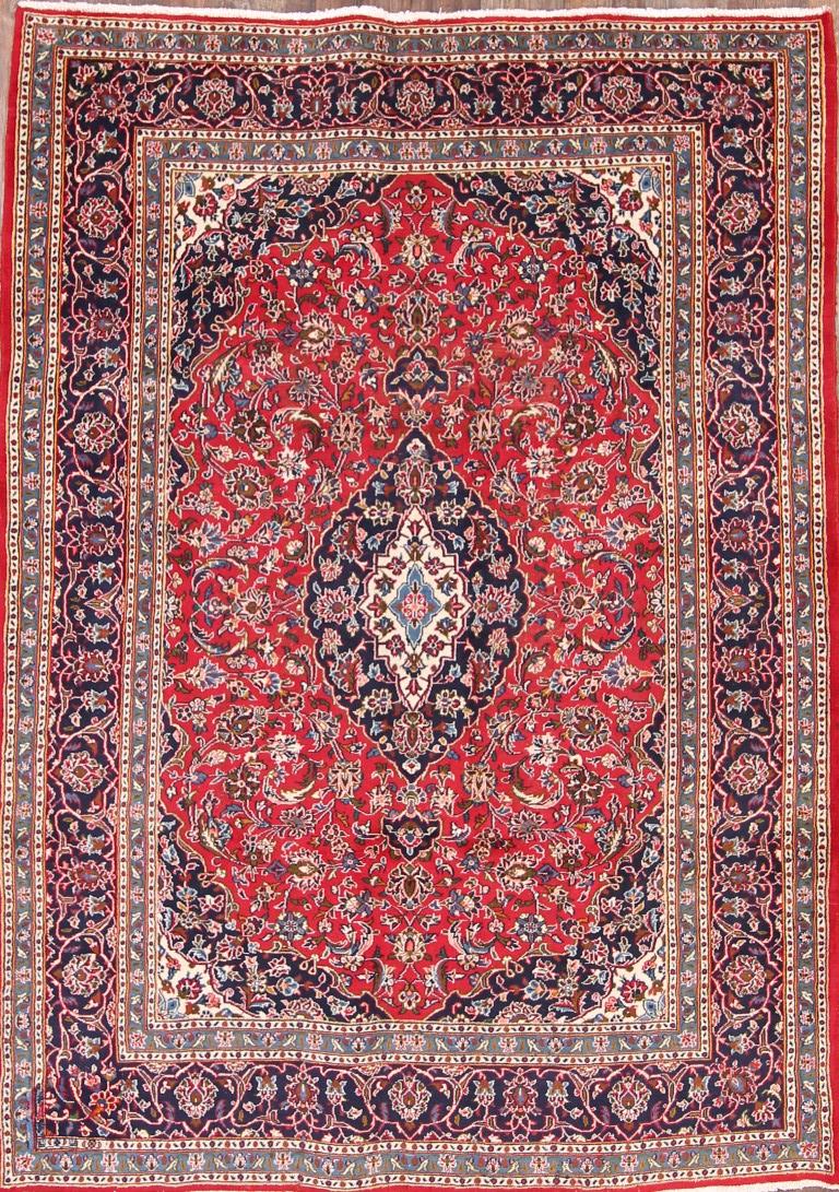 clearance traditional 6x9 mashad persian area rug oriental carpet 9 39 3 x 6 39 8 ebay. Black Bedroom Furniture Sets. Home Design Ideas