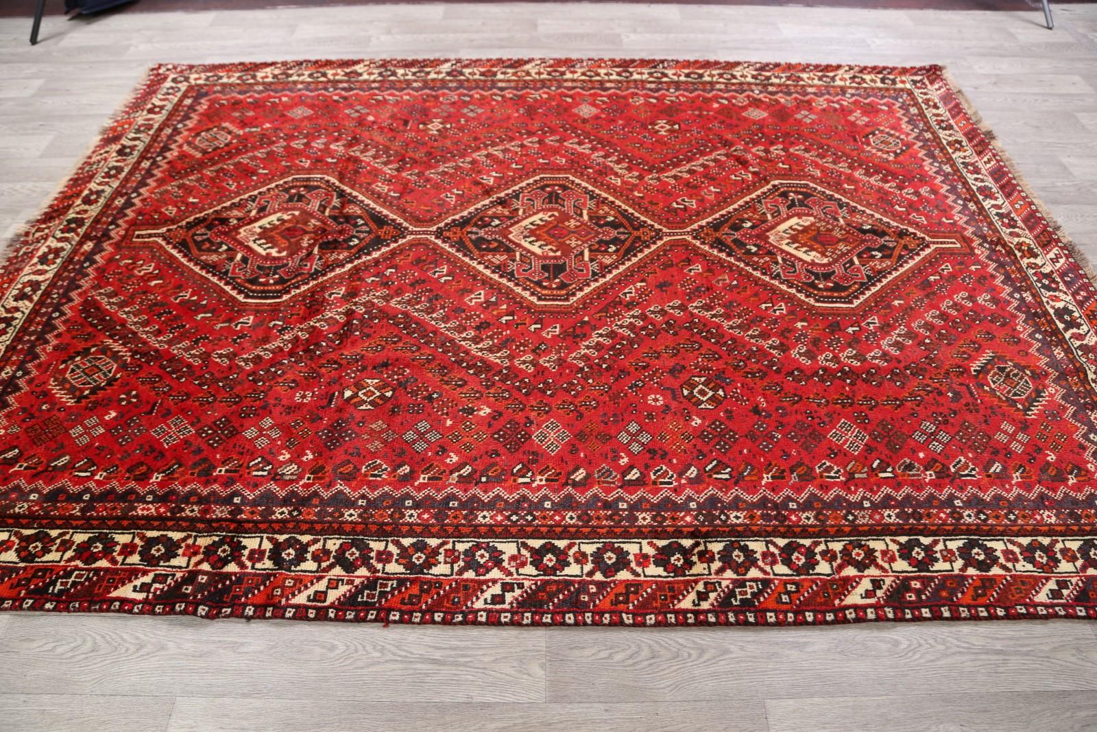 One Of A Kind Vintage Geometric Tribal Qashqai Kashkoli