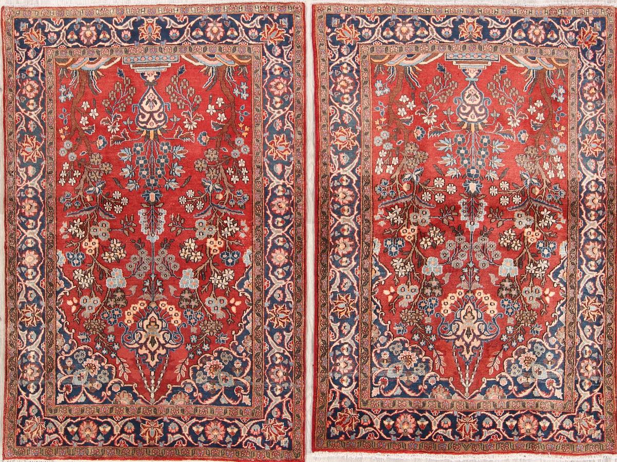 Floral 4x6 Wool Najafabad Oriental
