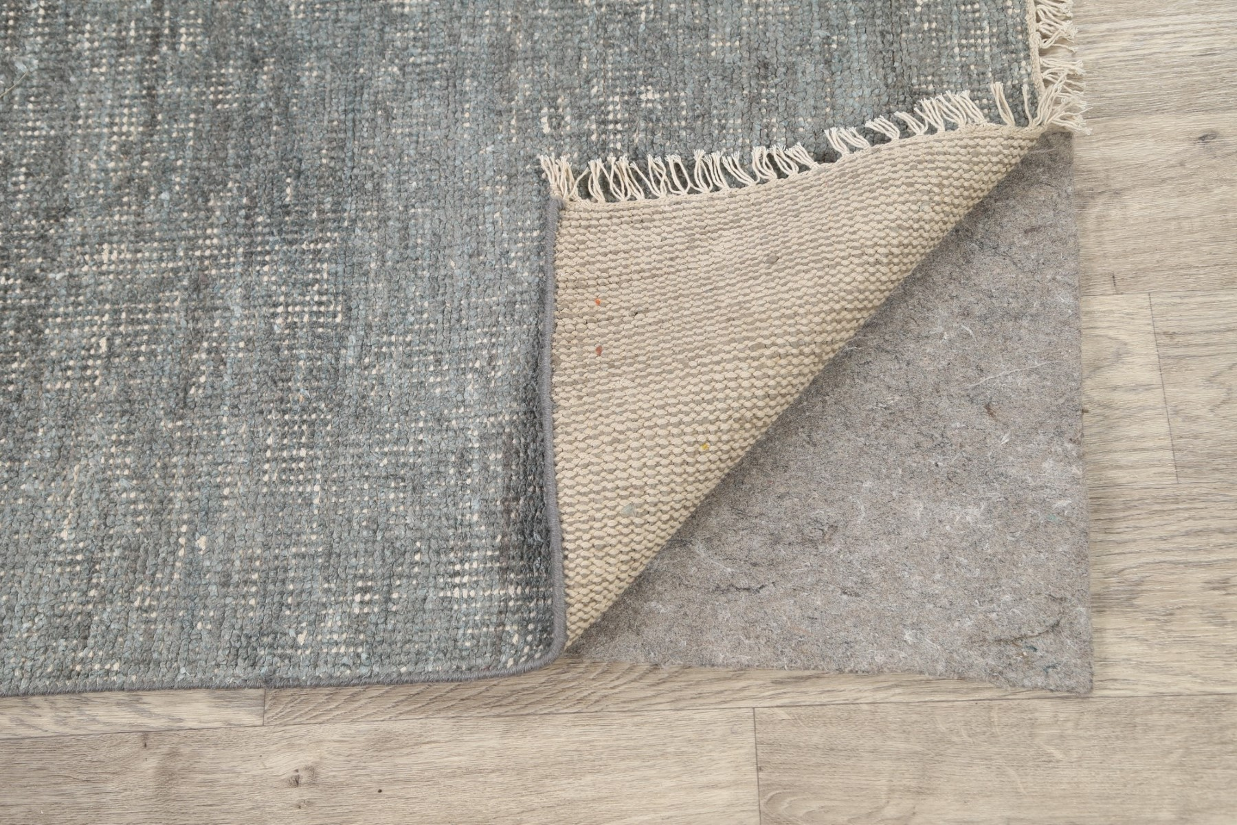 Contemporary Distressed Modern Oriental Area Rug Wool Hand ...