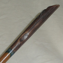 "15"" Hand Turned and Carved Newt Mahoe Wood Magic W"