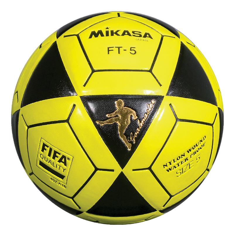 19970efb3 Details about Mikasa FT5 Goal Master Soccer Ball Size 5 Yellow/Black  Official Footvolley Ball