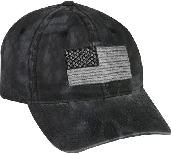 Kryptek Typhon US Flag Hat Outdoor Hunting Cap Tactical Camouflage USA Hat