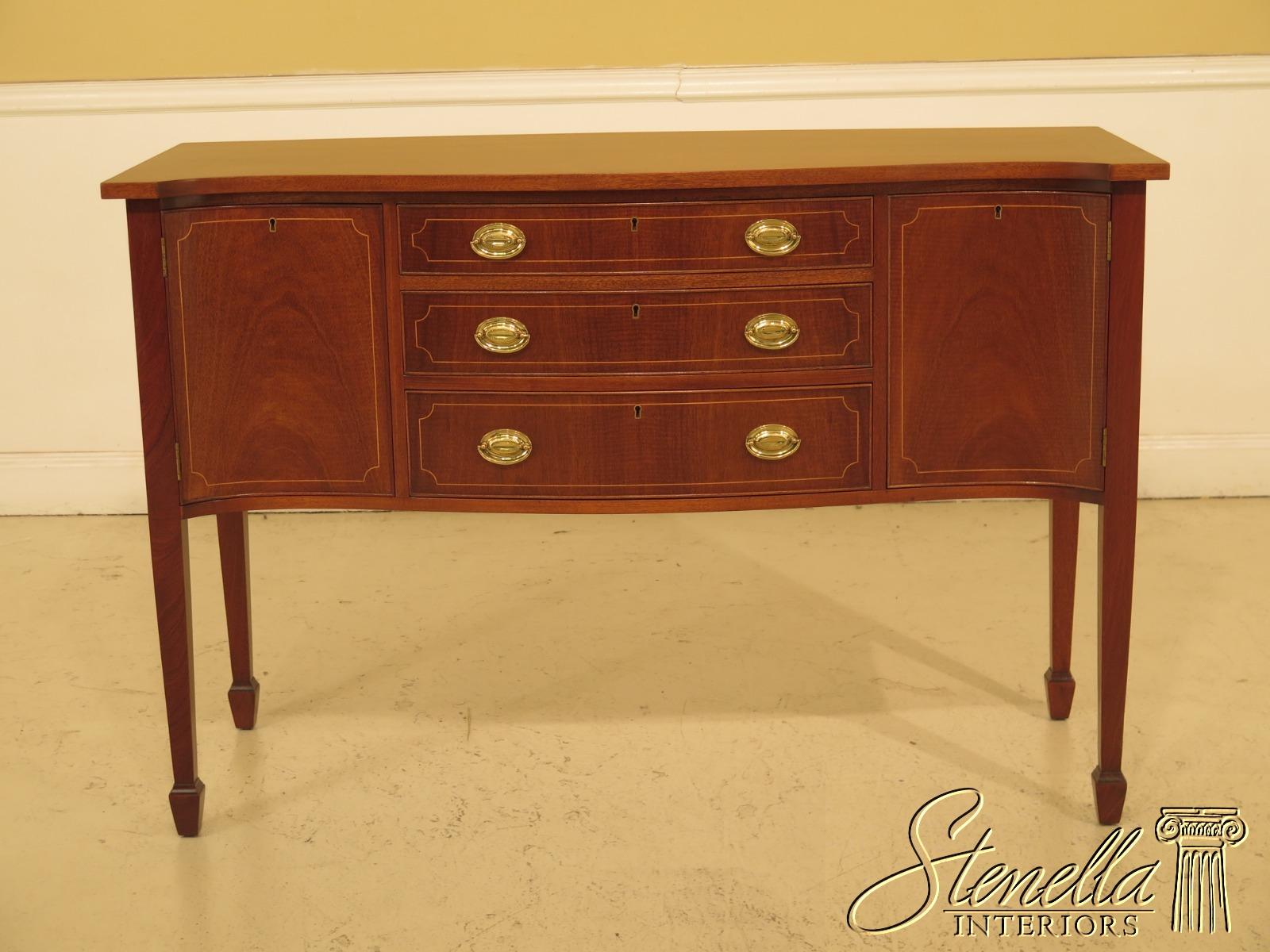46956ec Biggs Inlaid Mahogany Federal Style Sideboard Ebay