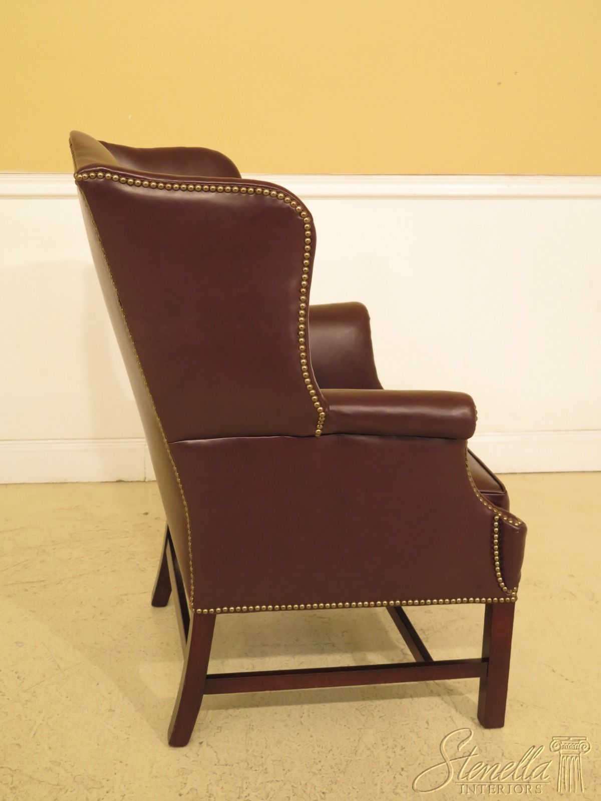 High Back Dining Chair Vintage