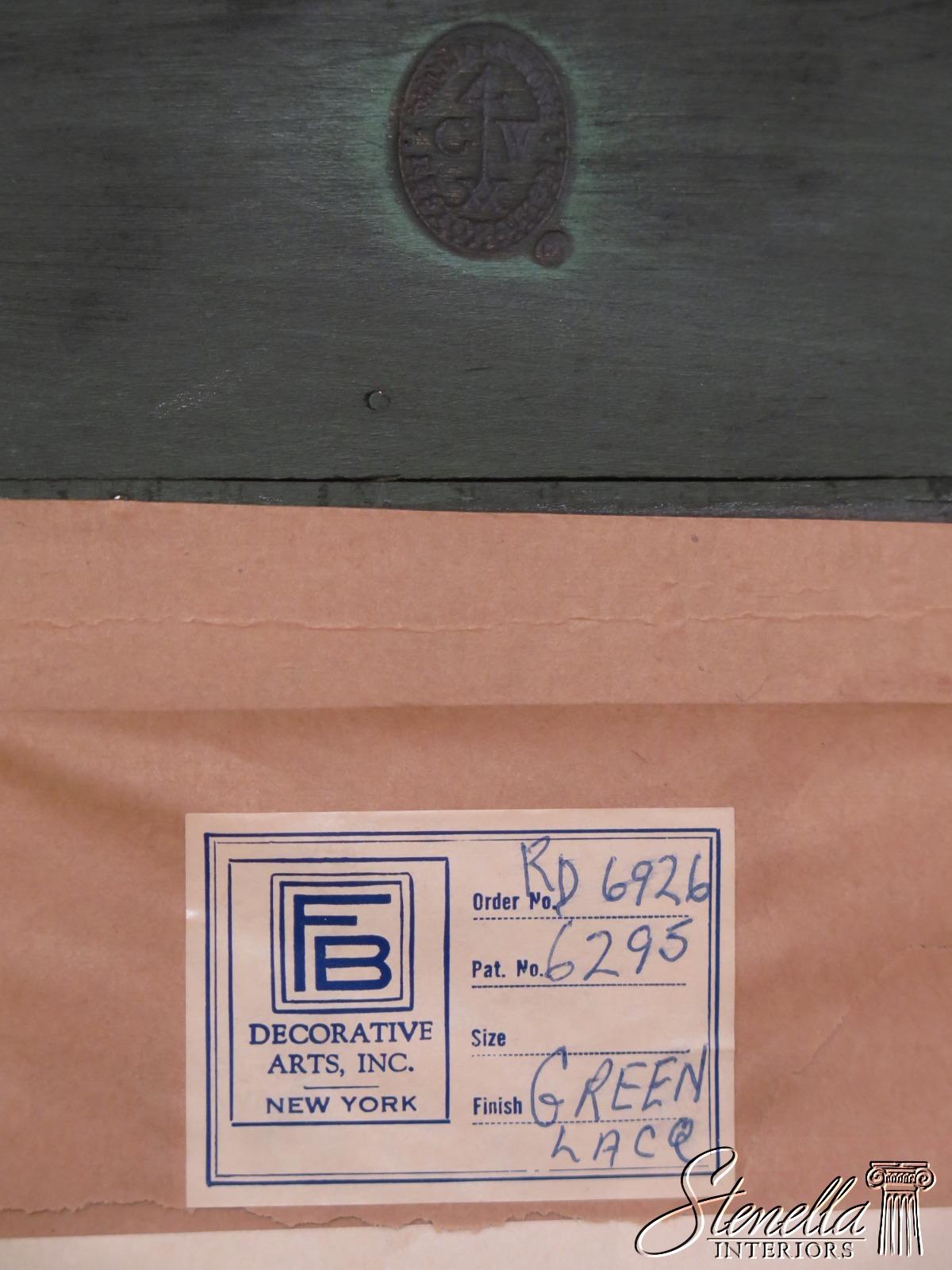 30528ec Friedman Brothers For Kittinger Green Chinoiserie