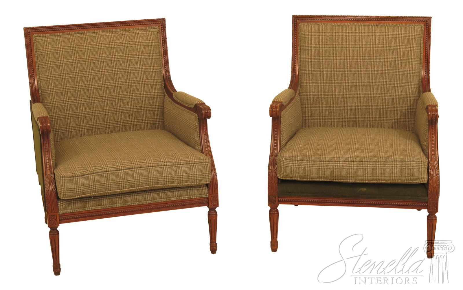 30471ec Pair Henredon Ralph Lauren French Louis Xv Style