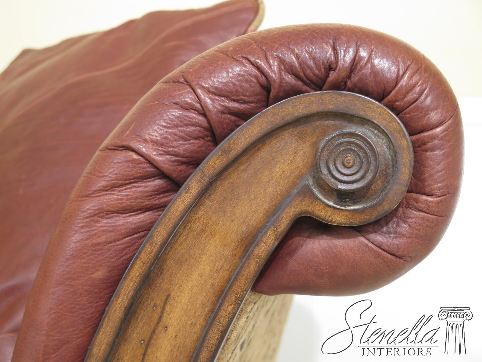 25641EC: LLOYDS Leather & Upholstered Rustic Sofa | eBay