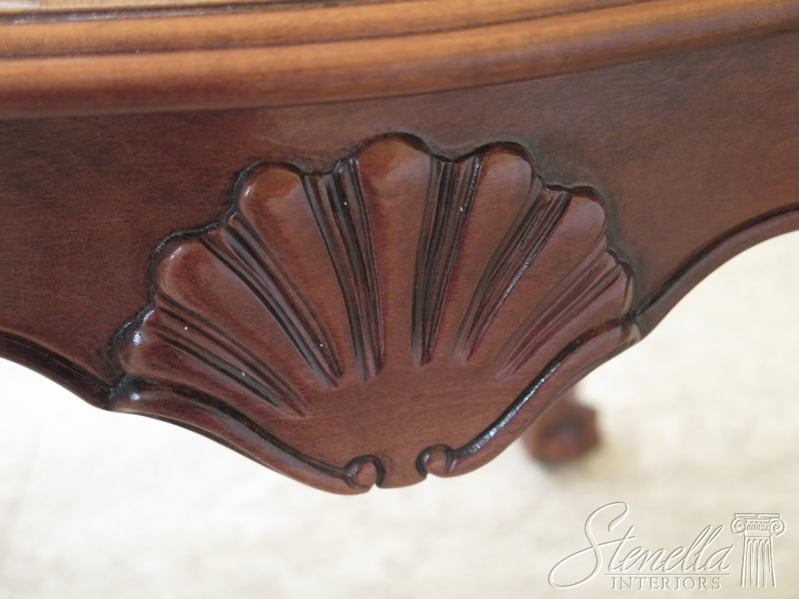 47425ec Chippendale Style Ball Amp Claw Mahogany Occasional