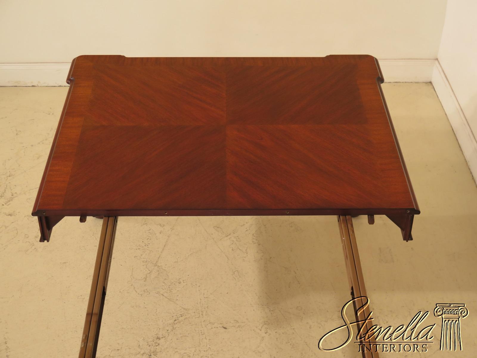 L47448ec Henkel Harris Clawfoot Mahogany Dining Room