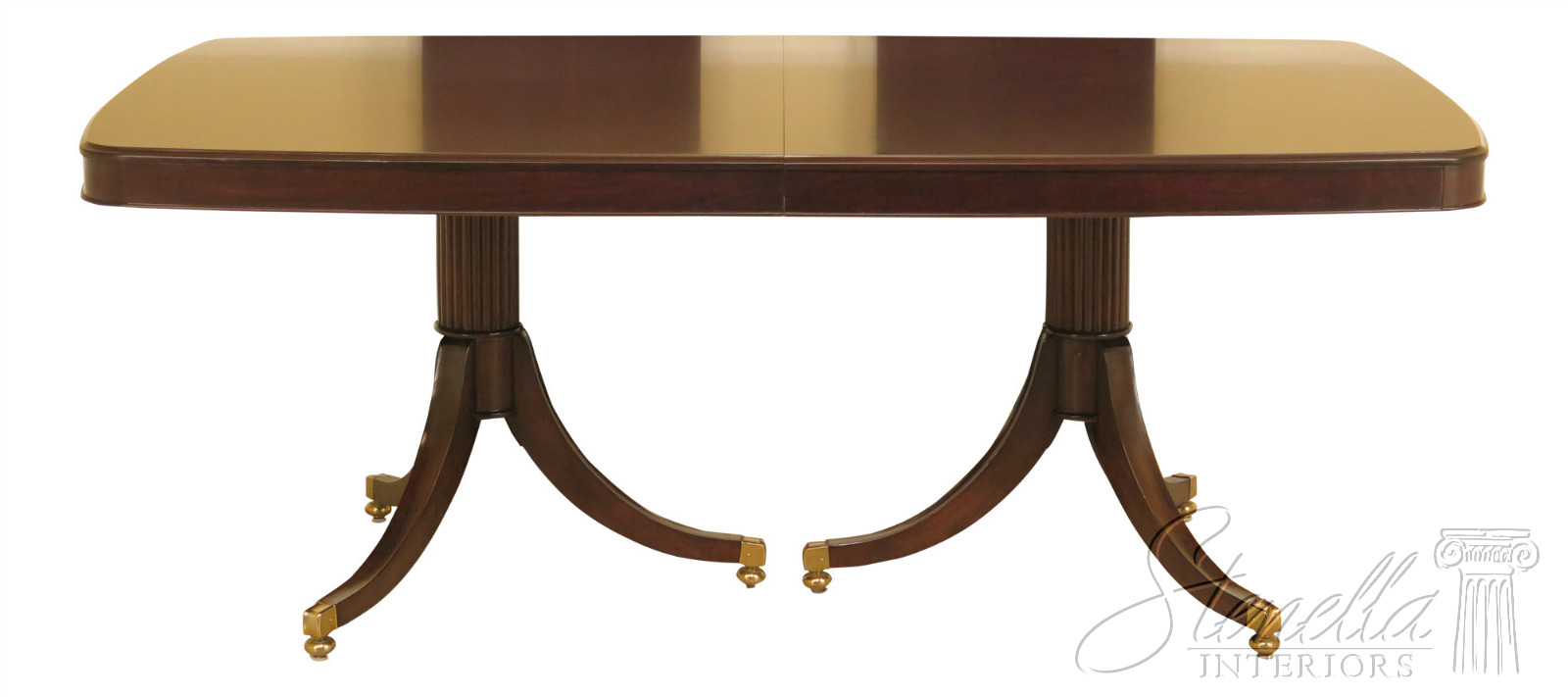 Details about LF47046EC: THOMASVILLE Dark Cherry Modern Duncan Phyfe Dining  Table