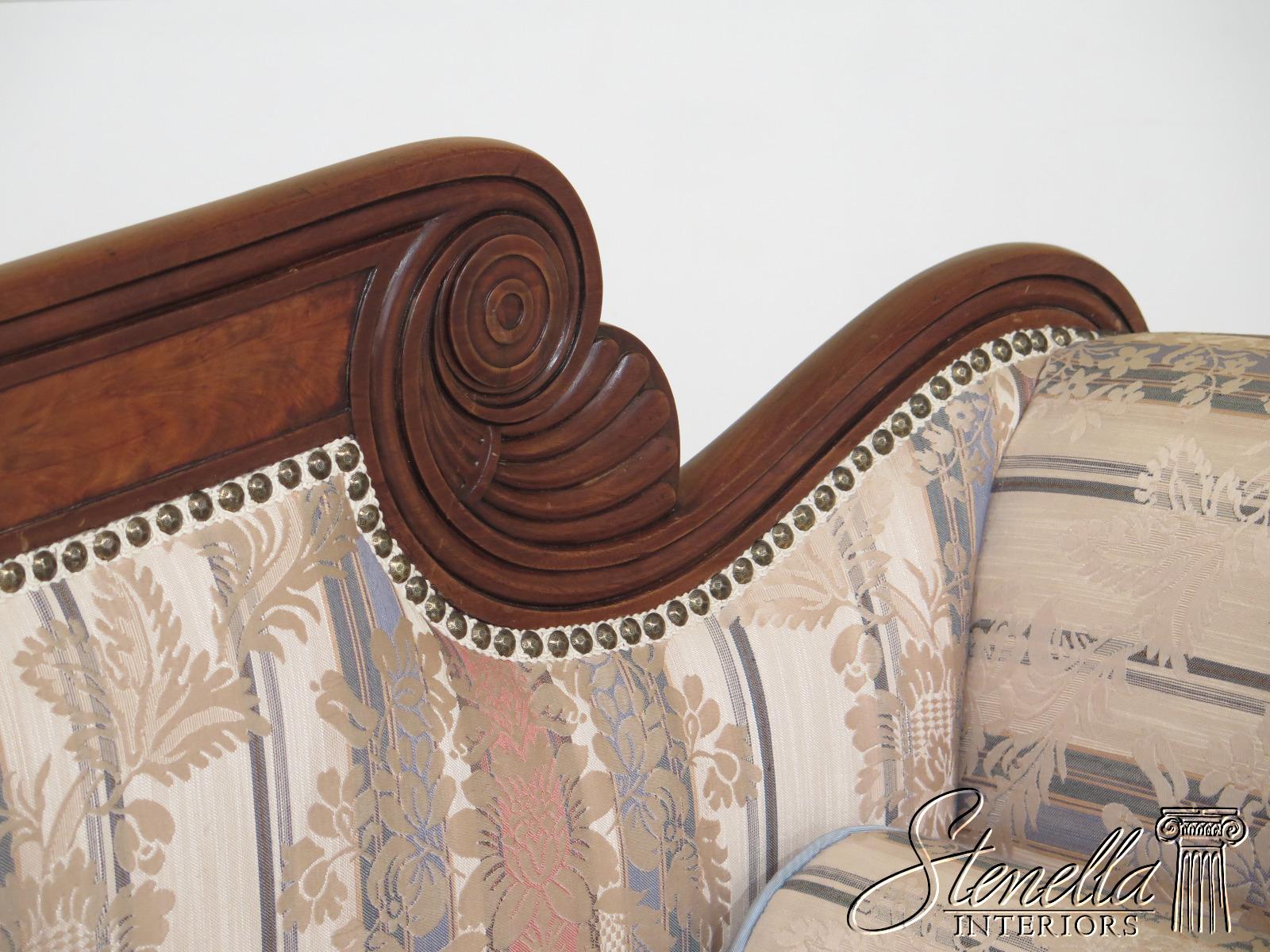 30723ec Antique Federal Style Duncan Phyfe Mahogany Sofa