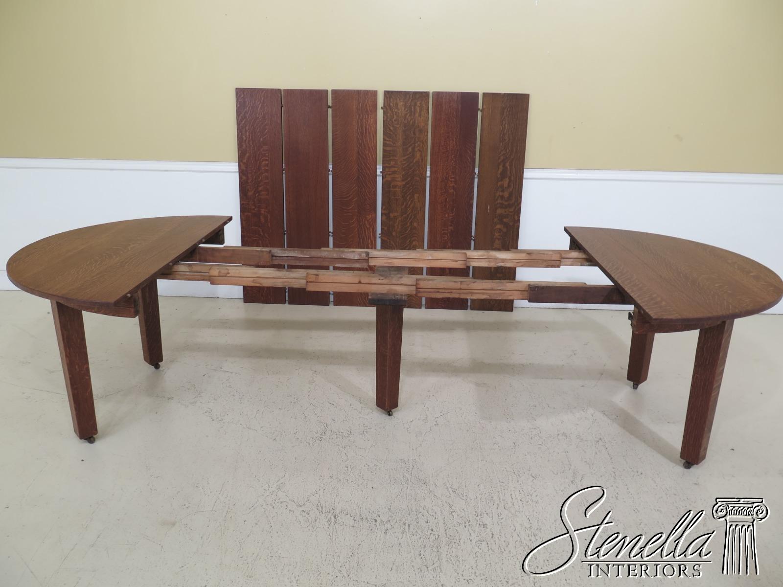 Fabulous Details About F30715Ec Stickley Antique Original Round Dining Room Extension Table Lamtechconsult Wood Chair Design Ideas Lamtechconsultcom