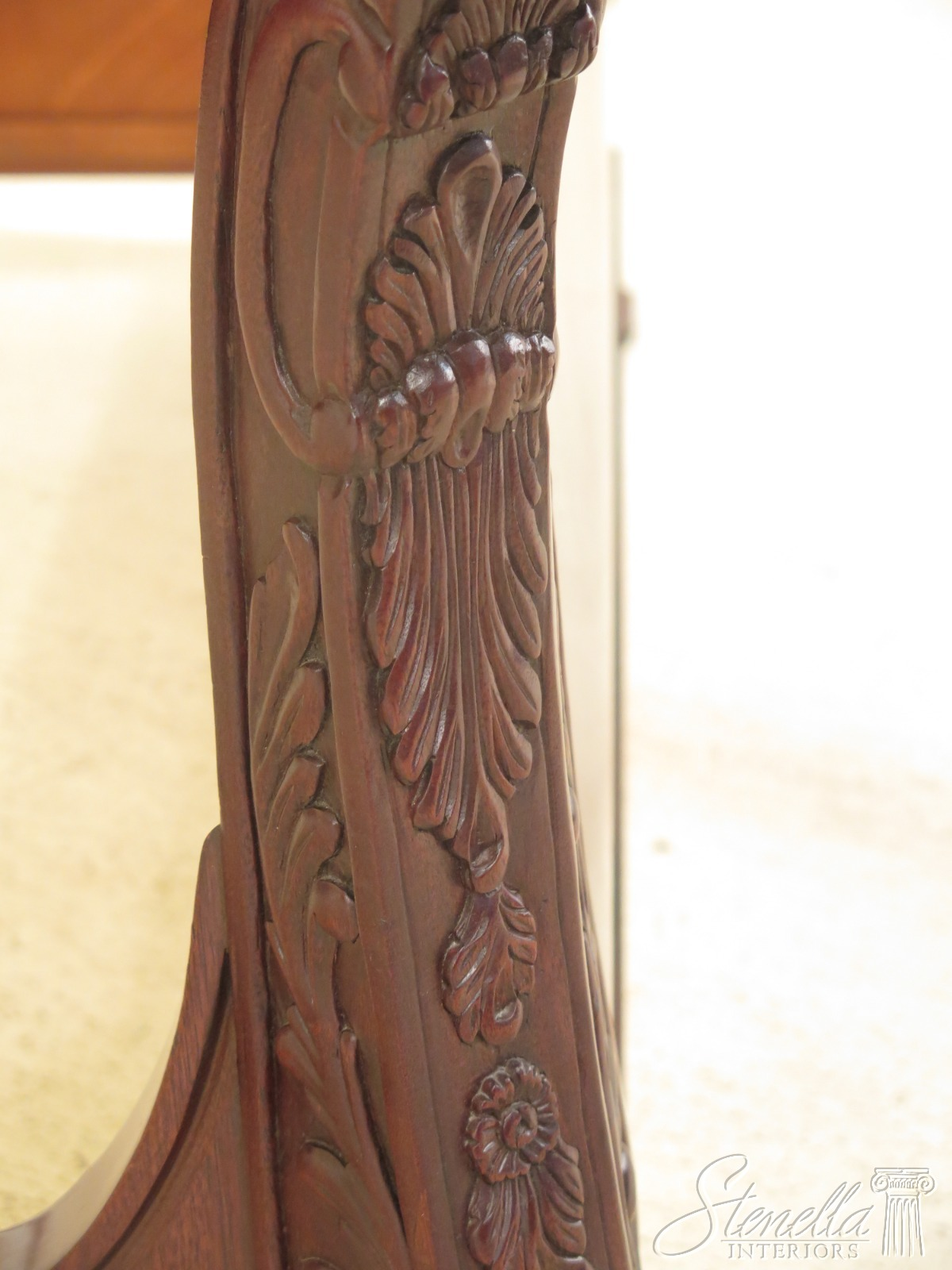 Fabulous Details About 47185Ec Hickory Chair Co Queen Size Mahogany Sleigh Bed Uwap Interior Chair Design Uwaporg