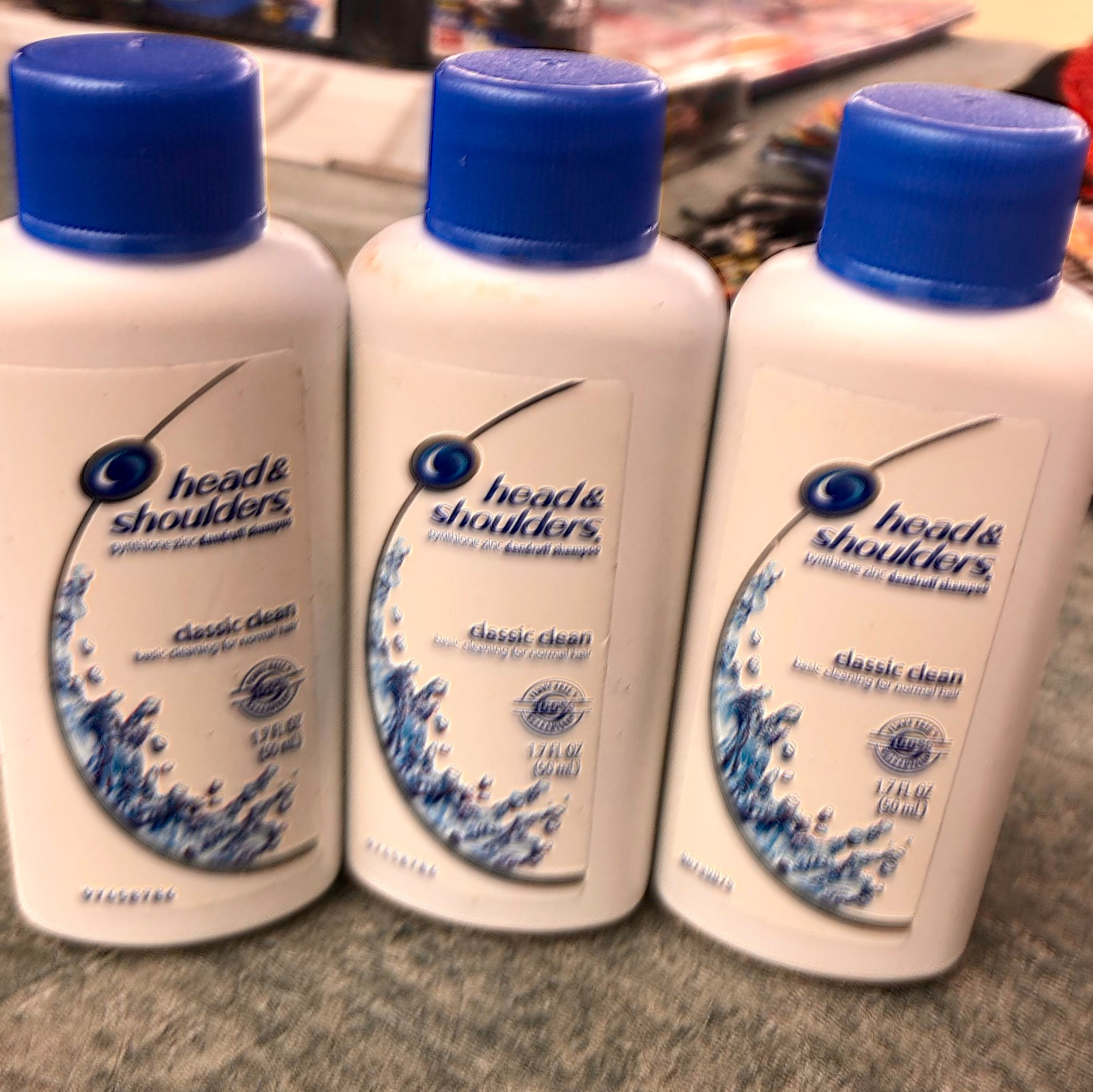 3 Head Shoulders Classic Clean 17 Fl Oz Dandruff Shampoo For Samphoo And New Condition