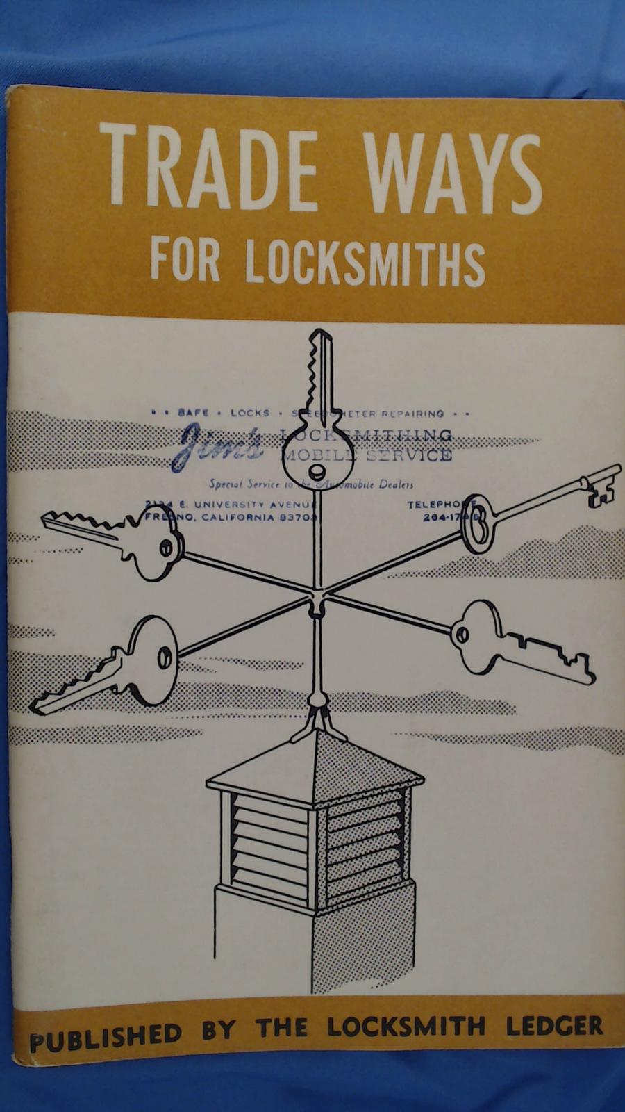 Trade Ways For Locksmiths (Vintage, Locksmithing,