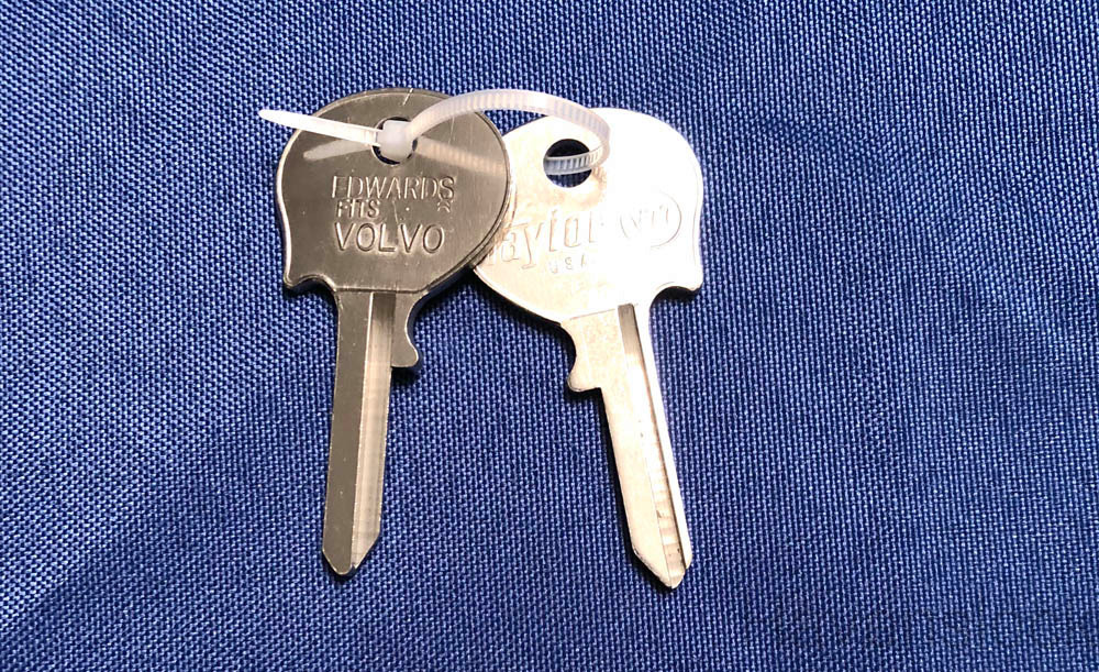 Foreign Auto Key V77 (DL NE6)  for Volvo (See Char
