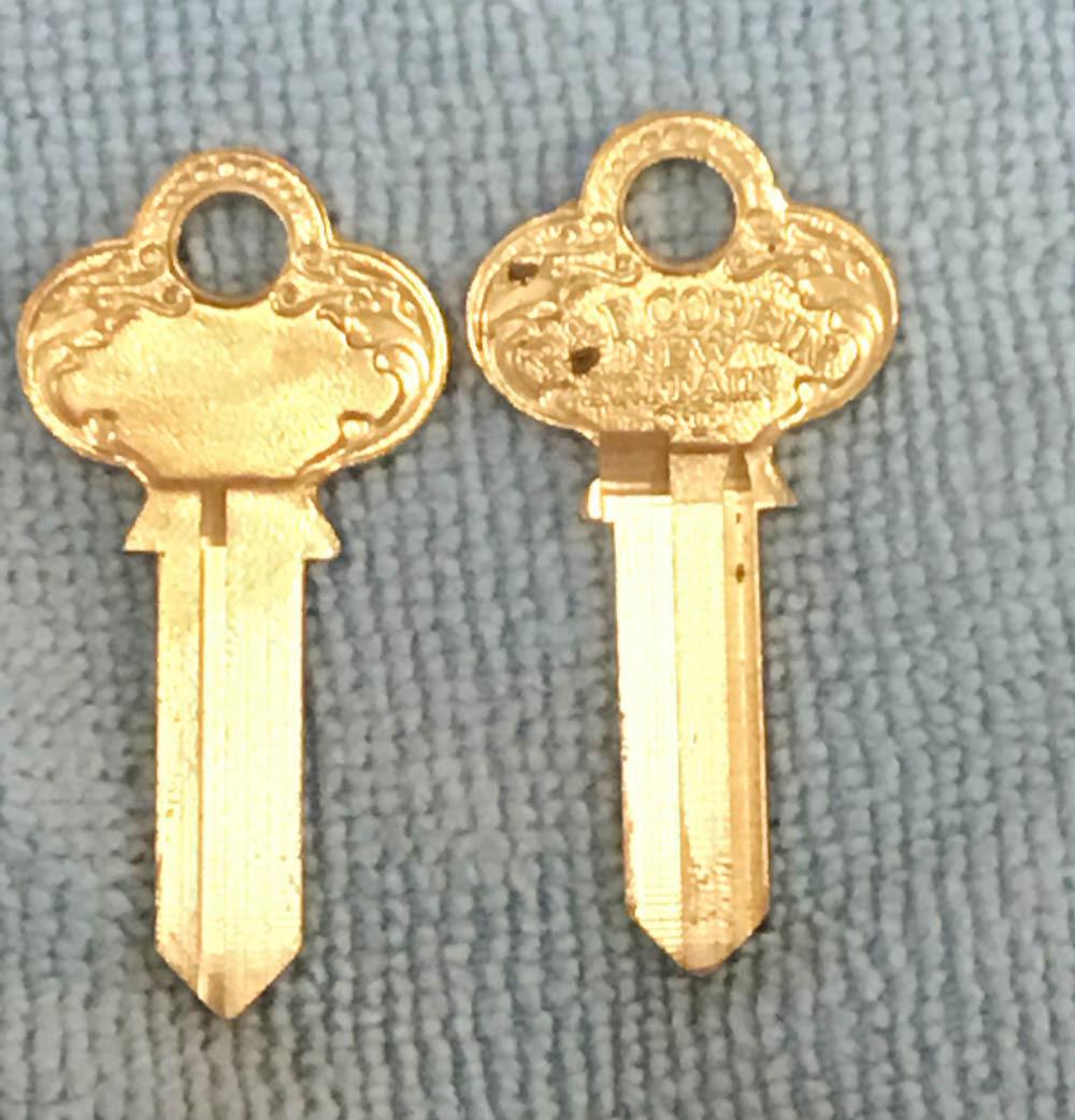 Corbin Old Fancy Vintage Original Key ZA-59AZ-6, I