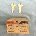 P & F Corbin Old Fancy Vintage Original Key 58322-