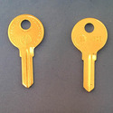 Vintage Foreign Auto Key 64S (ilco 64S)  for Fiat