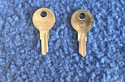 Vintage Auto Key 65E (CURTIS MC24)  for Lambretta