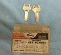 Corbin Old Fancy Vintage Original Key A1-59B-25, I