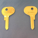 Vintage Foreign Auto Key A80M (ilco KL1) for Alfa