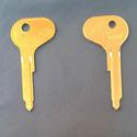 Vintage Foreign N.S.U. Auto Key Blank B80N (Ilco H