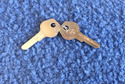 Vintage Auto Key D68A (DL DH1)  for Daihatsu (See